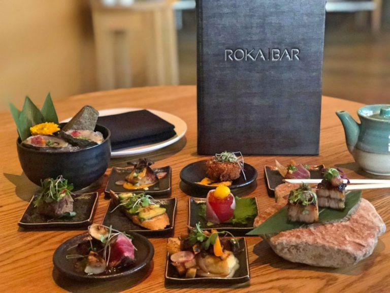 Roka Bar menu and appetizers